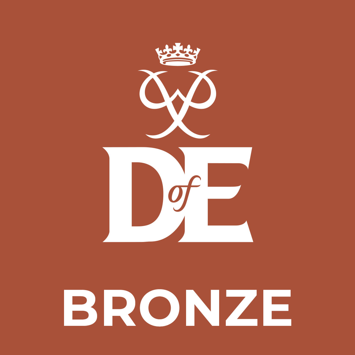 square level logo BRONZE